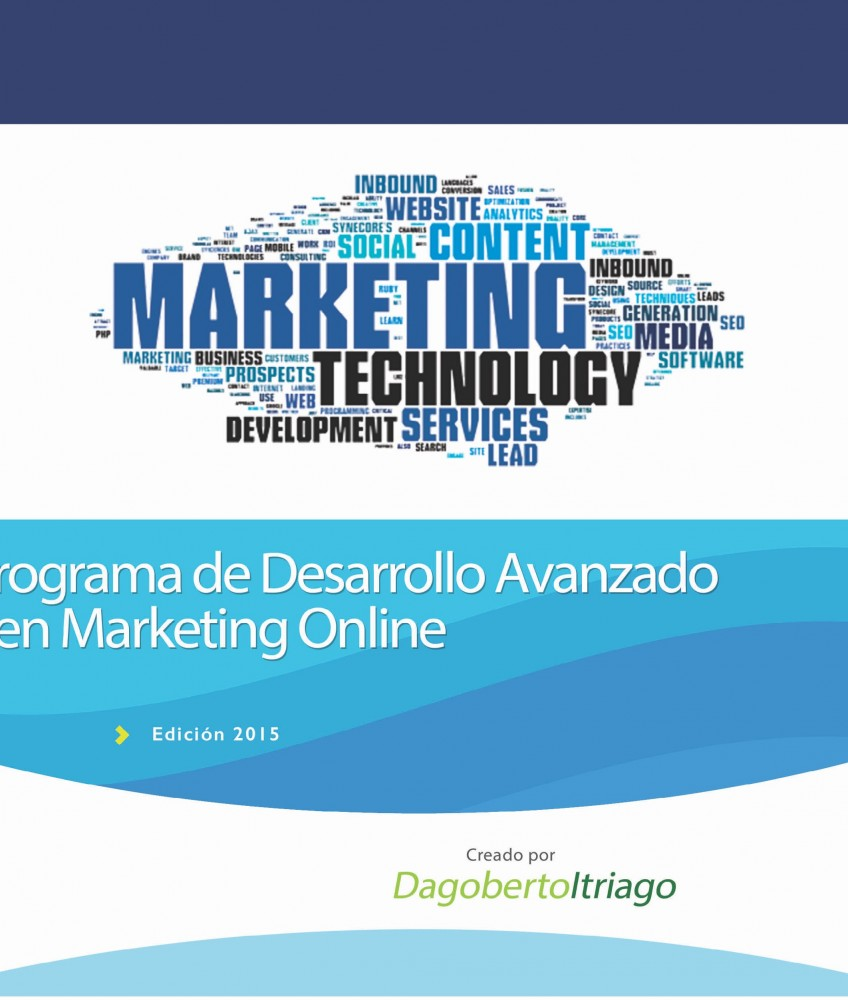 Programa de desarrollo avanzado en maketing on-line